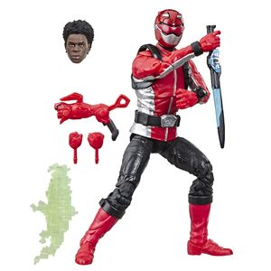 [Power Rangers: Lightning Collection Action Figure: Beast Morphers Red Ranger (Product Image)]